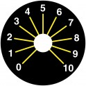 WRAC0101 Sérigraphie pour Potentiomètre