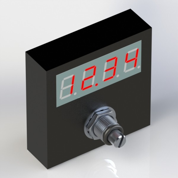POTENTIOMETER FOR PWM PROPORTIONAL VALVE WITH DISPLAY